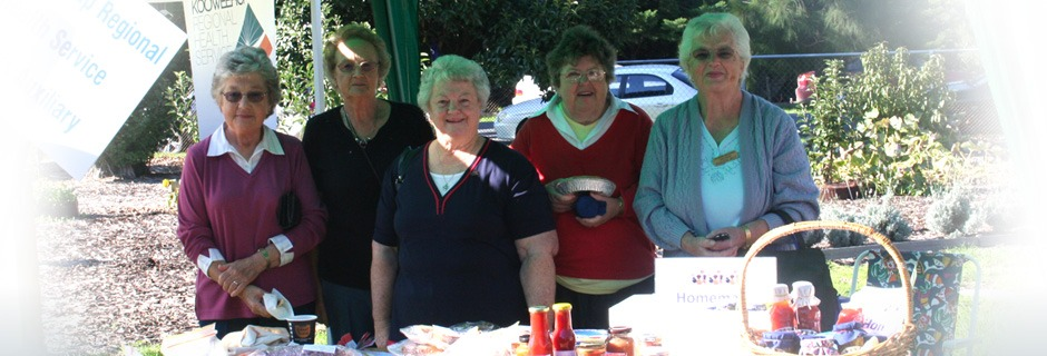 Four members of the ladies auxiliary